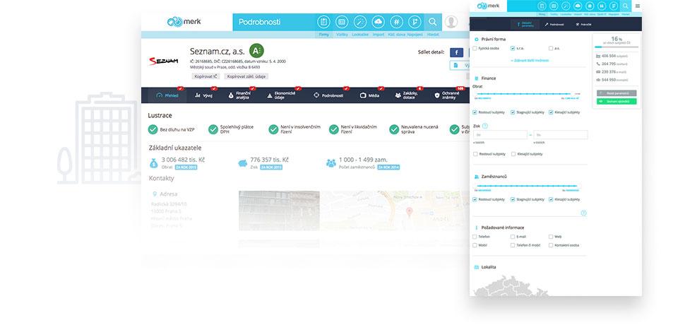 Databáza firiem Merk